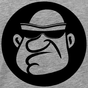 Gangster sunglasses bald Bandit T-Shirts - Men's Premium T-Shirt