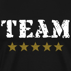 Team, 5 Stars, Player, Club, Sports, Winner, Best, - Männer Premium T-Shirt