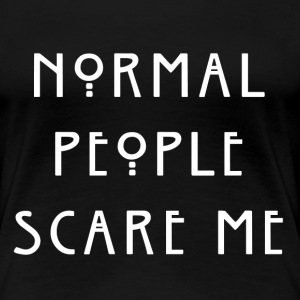 Normal People women's shirt - Women's Premium T-Shirt