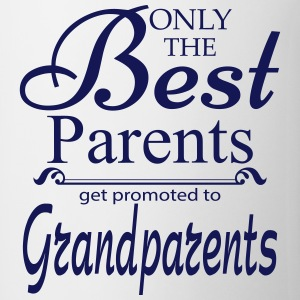 The Best Parents Get Promoted to Grandparents Mugs & Drinkware - Mug