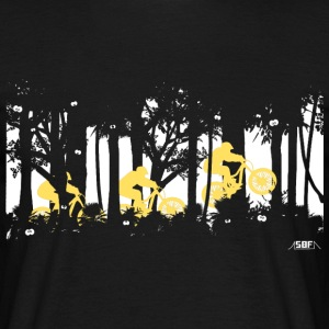 forest jump  T-shirts - Herre-T-shirt