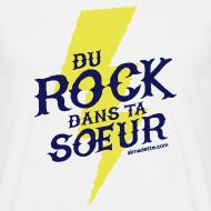 Motif ~ T-Shirt Homme - Du Rock