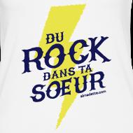 Motif ~ Débardeur Femme - Du Rock