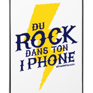 Motif ~ Coque d'IPhone 4/4S - Du Rock