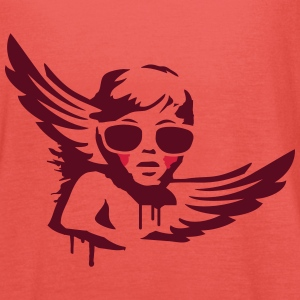An angel with sunglasses Tops - Women's Tank Top by Bella