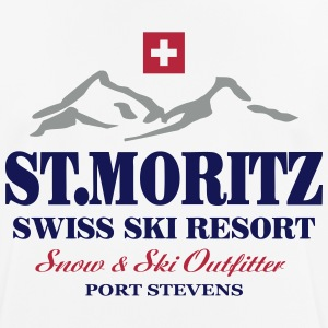 St.Moritz - Ski - Apres - Wintersport T-Shirts - Men's Breathable T-Shirt