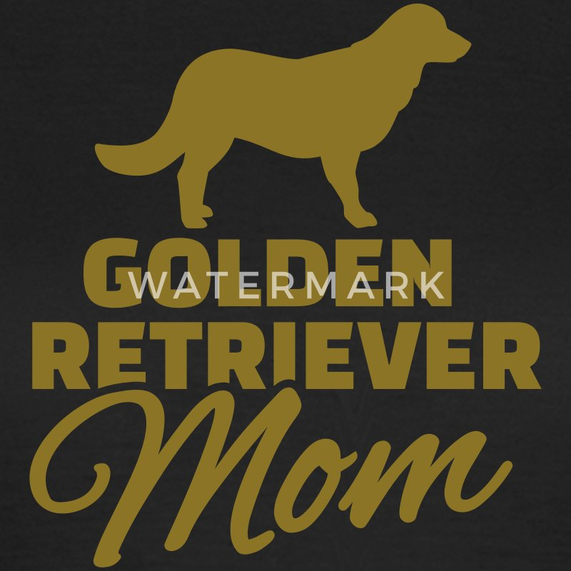Golden Retriever Mom T-Shirts - Frauen T-Shirt