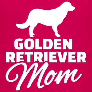 Golden Retriever Mom T-Shirts - Kinder Premium T-Shirt