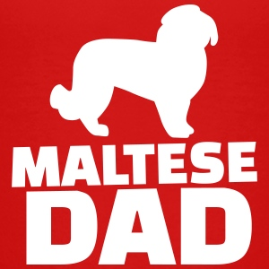 Maltese Dad T-Shirts - Kinder Premium T-Shirt
