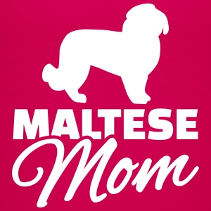Maltese Mom T-Shirts - Kinder Premium T-Shirt