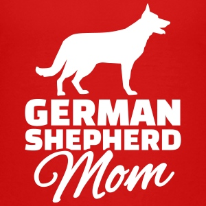 German Shepherd Mom T-Shirts - Kinder Premium T-Shirt