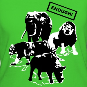 Wildlife - Enough T-Shirts - Vrouwen Bio-T-shirt
