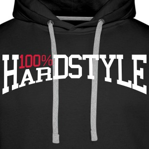 100% Hardstyle 2 Sweat-shirts - Sweat-shirt à capuche Premium pour hommes
