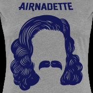 Motif ~ T-Shirt Femme - Stache