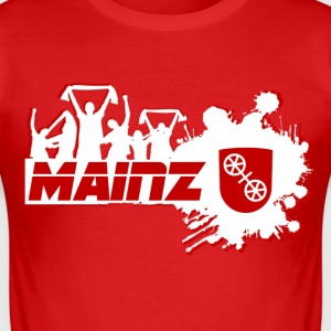 Mainz Fan T-Shirts - Männer Slim Fit T-Shirt