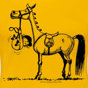 Stures Pony Thelwell Cartoon T-Shirts - Frauen Premium T-Shirt