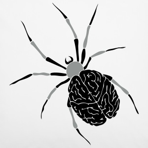 Spider Brain Pillow Case - Pillowcase 40 x 40 cm