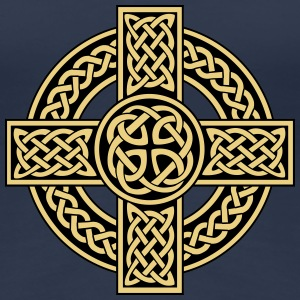 Celtic cross - Frauen Premium T-Shirt