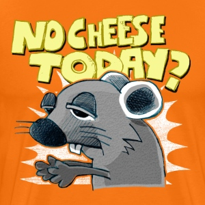 no cheese today? T-Shirts - Männer Premium T-Shirt