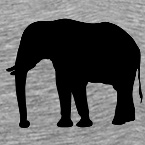 elefant - africa - safari T-Shirts - Men's Premium T-Shirt