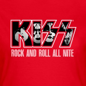 Rock And Roll All Nite  - T-shirt Femme