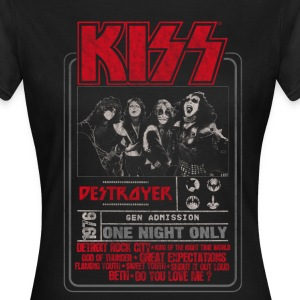 Kiss Destroyer: One Night Only  - Women's T-Shirt