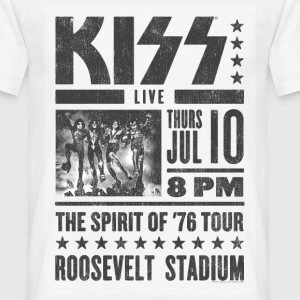 Kiss Roosevelt Stadium  - Men's T-Shirt
