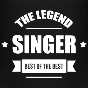 The Legend: Singer T-shirts - Premium-T-shirt barn