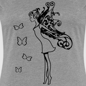 Fairy wings butterflies T-Shirts - Women's Premium T-Shirt