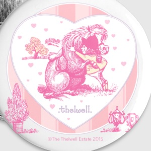 Ponyknus Thelwell cartoon Buttons & badges - Buttons/Badges lille, 25 mm