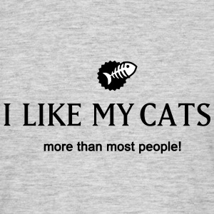 I like Cats T-Shirts - Männer T-Shirt
