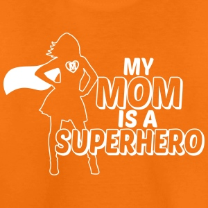 My mom is a Superhero T-Shirts - Teenager Premium T-Shirt
