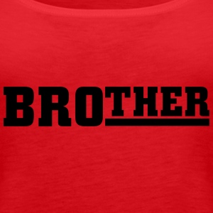Brother Toppe - Dame Premium tanktop