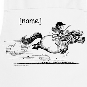 PonySprint Thelwell Cartoon  Aprons - Cooking Apron