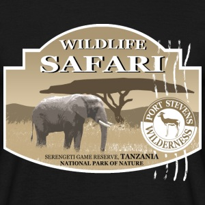 Elefant - Elephant - Safari - Afrika T-Shirts - Men's T-Shirt