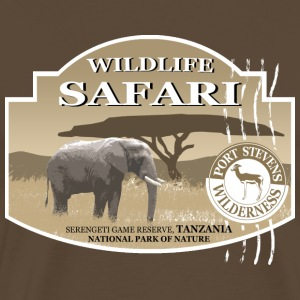 Elefant - Elephant - Safari - Afrika T-Shirts - Men's Premium T-Shirt