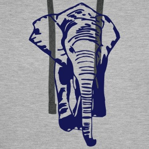 Elefant - Elephant - Safari - Afrika Hoodies & Sweatshirts - Men's Premium Hoodie