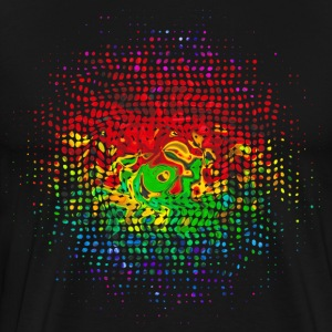 Color Dots, Party, Festival, Splash, Retro, Farbe  - Men's Premium T-Shirt