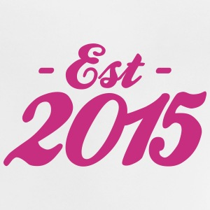 established 2015 baby geboorte Shirts - Baby T-shirt