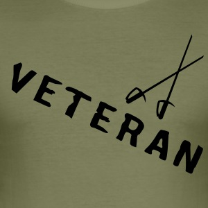 VETERAN - Men's Slim Fit T-Shirt