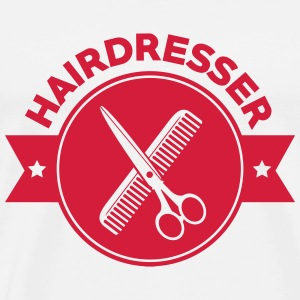 Hairdresser T-Shirts - Men's Premium T-Shirt