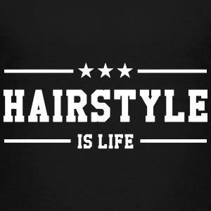 Hairstyle is life T-shirts - Premium-T-shirt barn