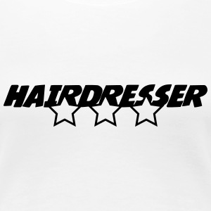 Hairdresser T-Shirts - Frauen Premium T-Shirt