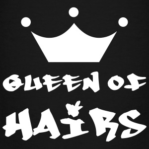 Queen of hairs T-shirts - Premium-T-shirt barn