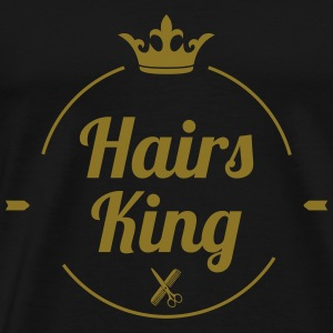 Hairs King T-shirts - Premium-T-shirt herr