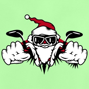 Santa Claus on Motorcycle Shirts - Baby T-Shirt