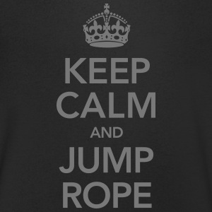 Keep Calm And Jump Rope T-Shirts - Men's V-Neck T-Shirt