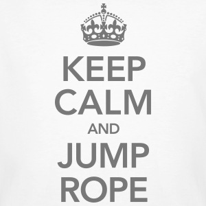 Keep Calm And Jump Rope Tee shirts - T-shirt bio Homme