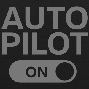 Auto Pilot (on) Tank Tops - Men's Premium Tank Top