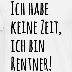pensioners pensionister T-shirts - Herre premium T-shirt